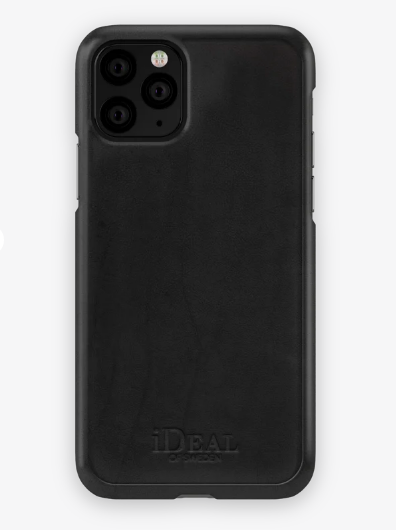 Coque Iphone noir simple Ideal of Sweden