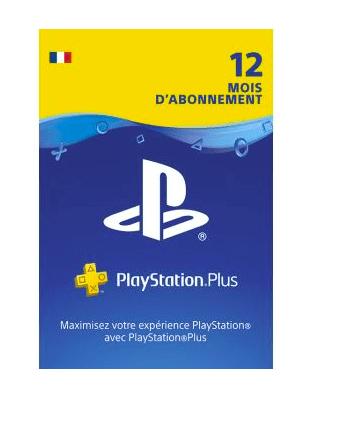 Playstation + 12 mois abonnement