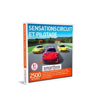 Coffret cadeau Smartbox Sensations circuit et pilotage Fnac