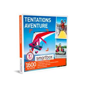 Coffret cadeau Smartbox Tentations aventure Fnac
