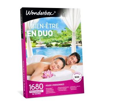 Coffret cadeau Wonderbox Bien-être en duo Fnac