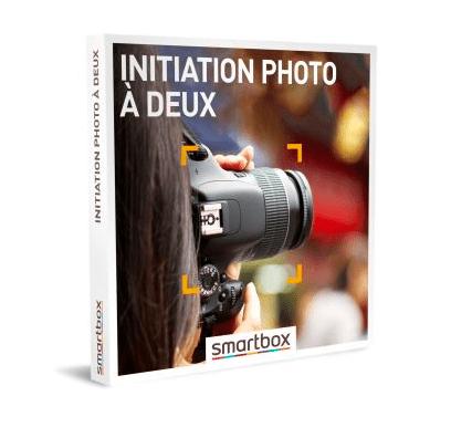 Coffret cadeau Smartbox Initiation photo à deux