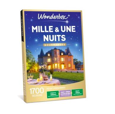 Coffret cadeaux Wonderbox Mille et une nuits gourmandes Fnac