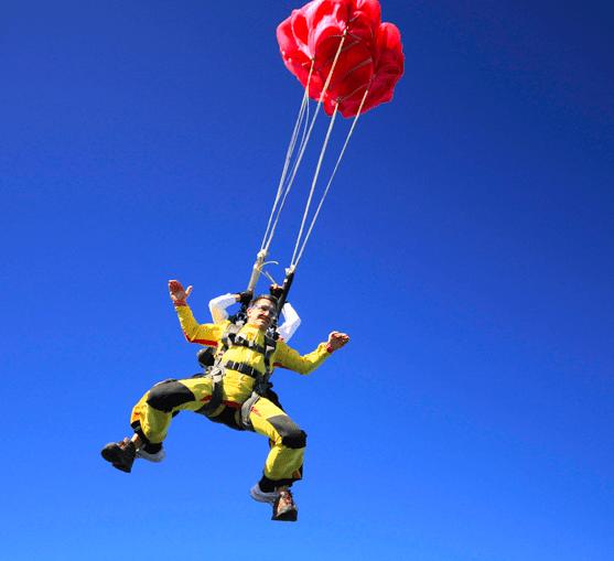 Saut en parachute - Skydive Spa