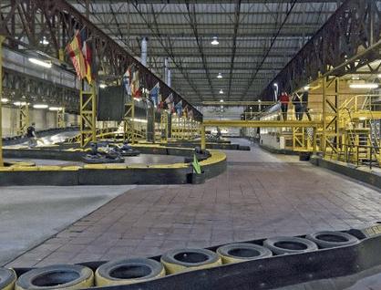 Bon pour faire du karting - Factory kart