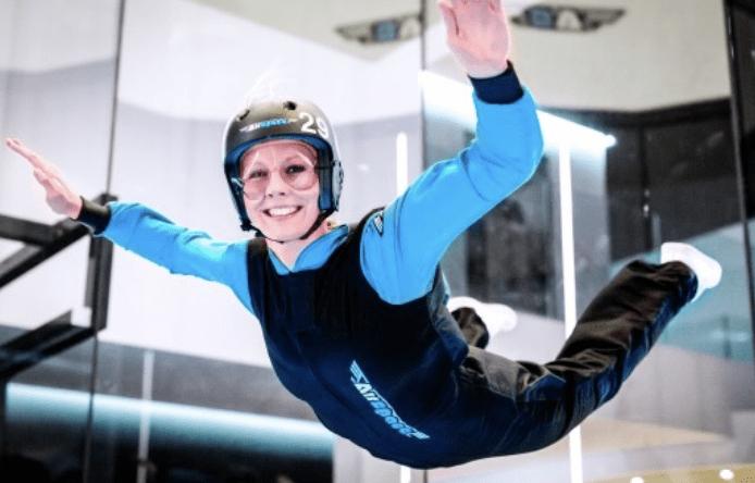 Bon pour faire du indoor skydiving - Airspace