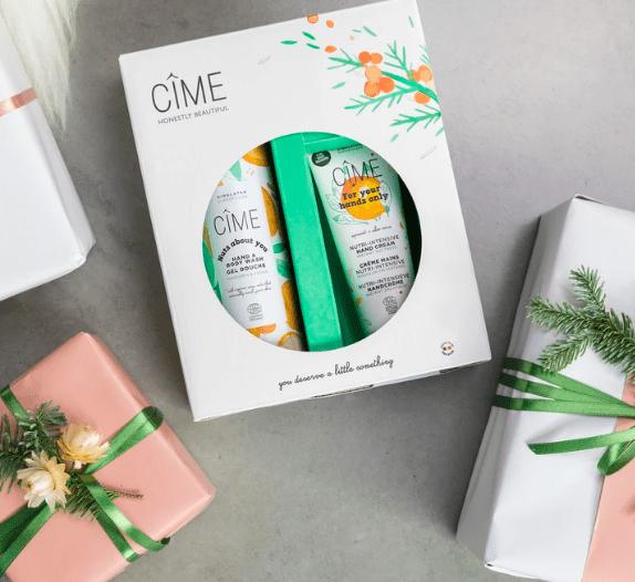 Box Crème pour les mains et lavage des mains et du corps - Cime Skincare