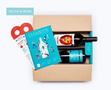 Box de vins à offrir en abonnement - le petit ballon