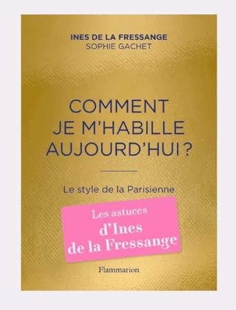 Livre sur la Parisienne - Ines de la Fressange