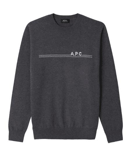 Pull gris foncé - Apc