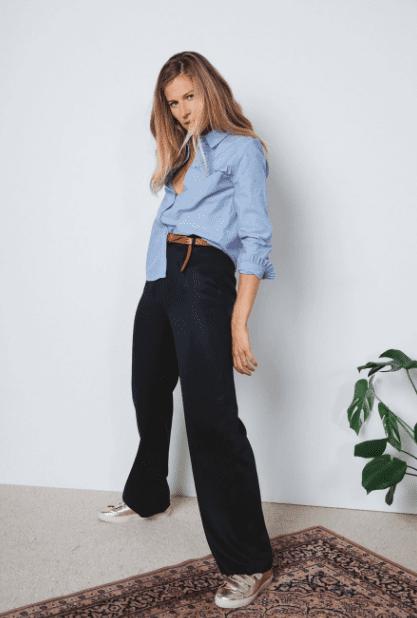 Pantalon bleu marine - Balzac Paris