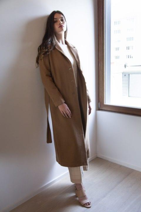 Longue manteau camel - SE-EM