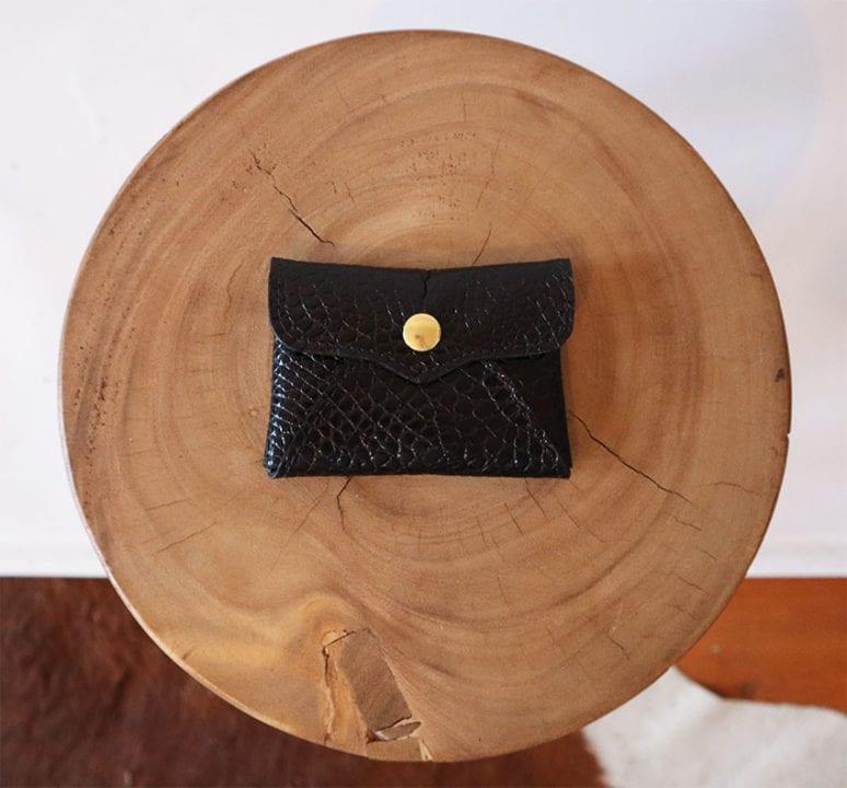 Porte-carte noir - Kokko bags
