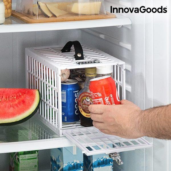 Cage de Sécurité pour Réfrigérateurs Food Safe Boutique du Geek