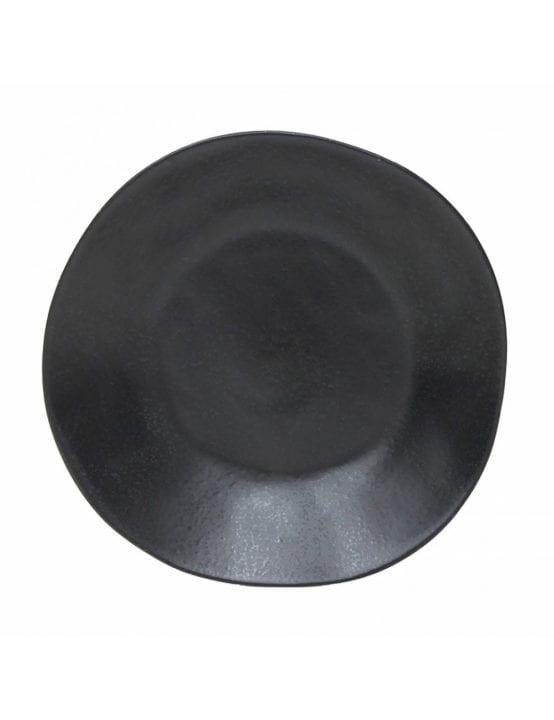 Assiette creuse noire - Mieu