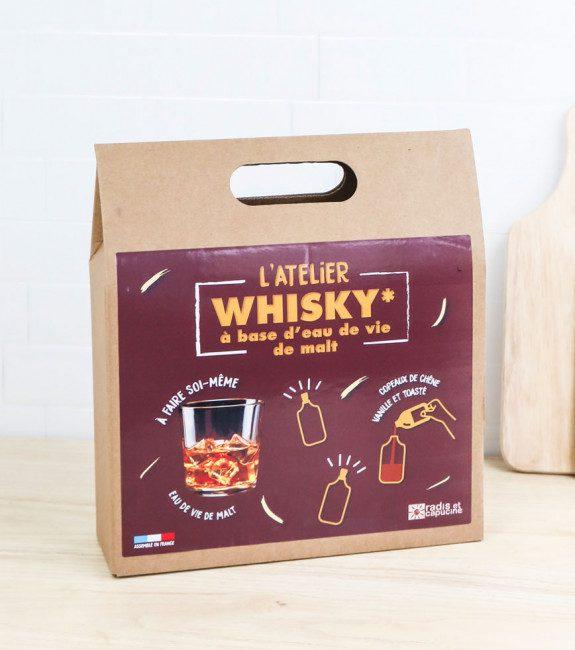 Coffret pour faire son whisky soi-même l'Avant-gardiste