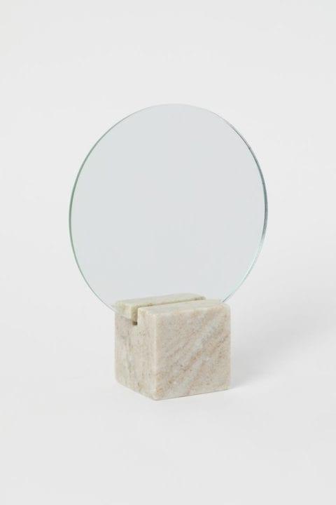 Miroir avec base en marbre H&M