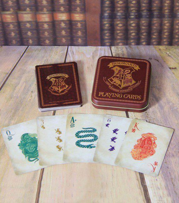 Jeu de cartes Poudlard - Harry Potter Avant-Gardiste