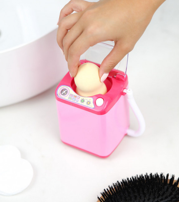 Mini machine à laver pour Beauty Blender l'Avant-Gardiste