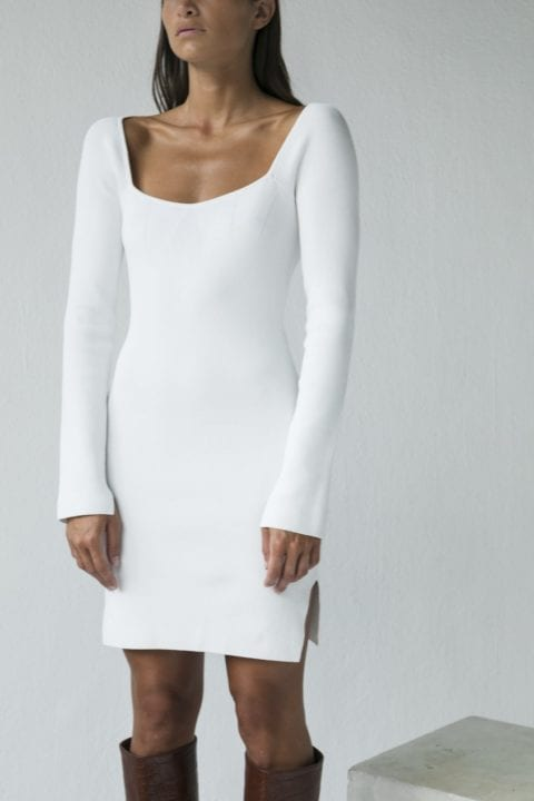 Robe blanche - Recc Paris