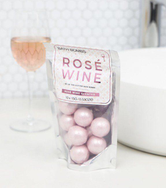 Boule de bain au rosé l'Avant-gardiste
