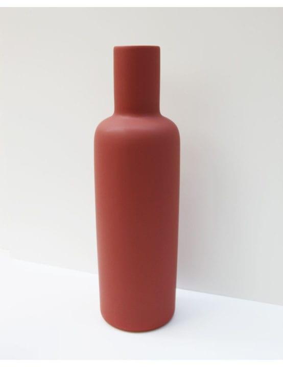 Vase Yucca Lie de vin- Mieu