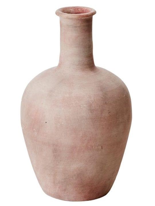Vase terracotta en terre cuite - rue de la déco
