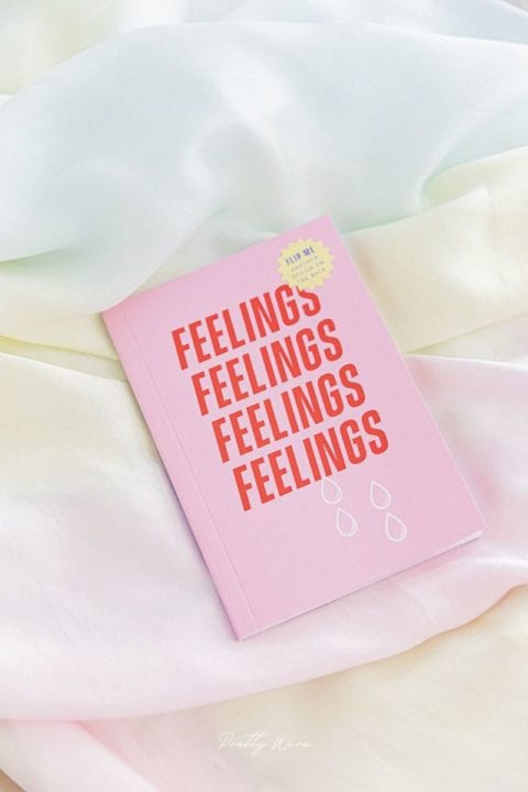 "Mini carnet ""feelings"" - Pretty wire"