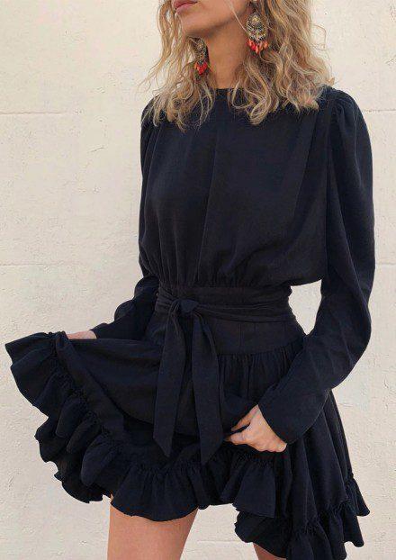 Robe noire - Josette et Bernard