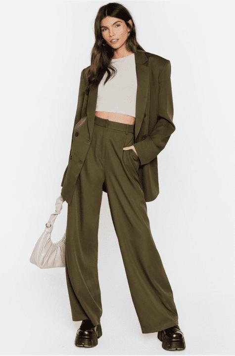 pantalon large nastygal