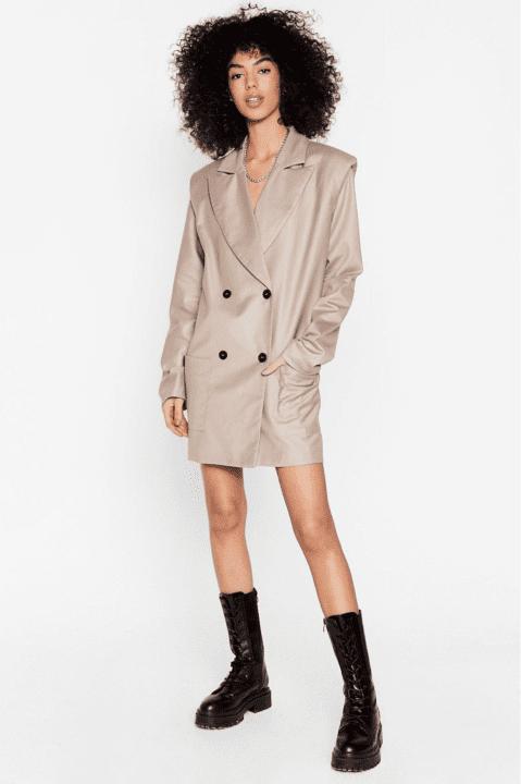 robe blazer nastygal