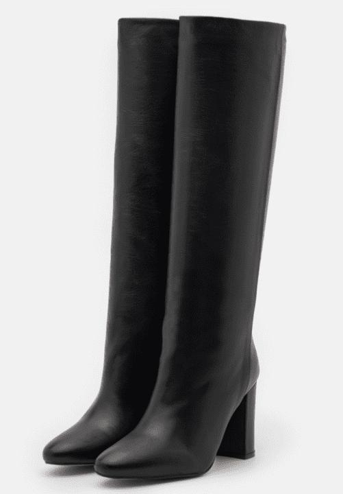 bottes noires Jonak hiver