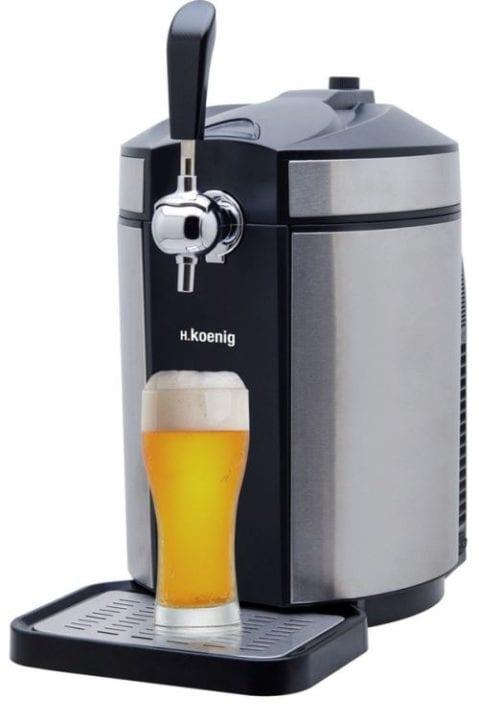 Pompe-a-biere-H-koenig-BW1880-65-W-Gris-et-Noir