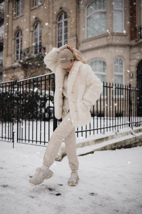 Tenue all white