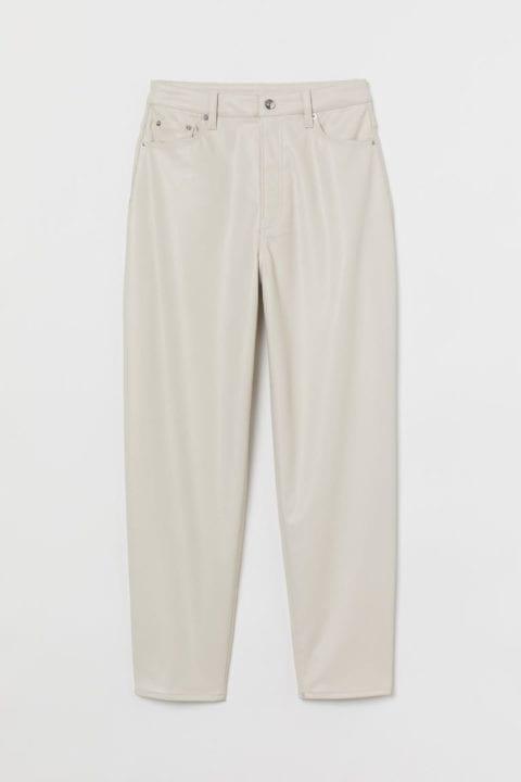pantalon beige hm