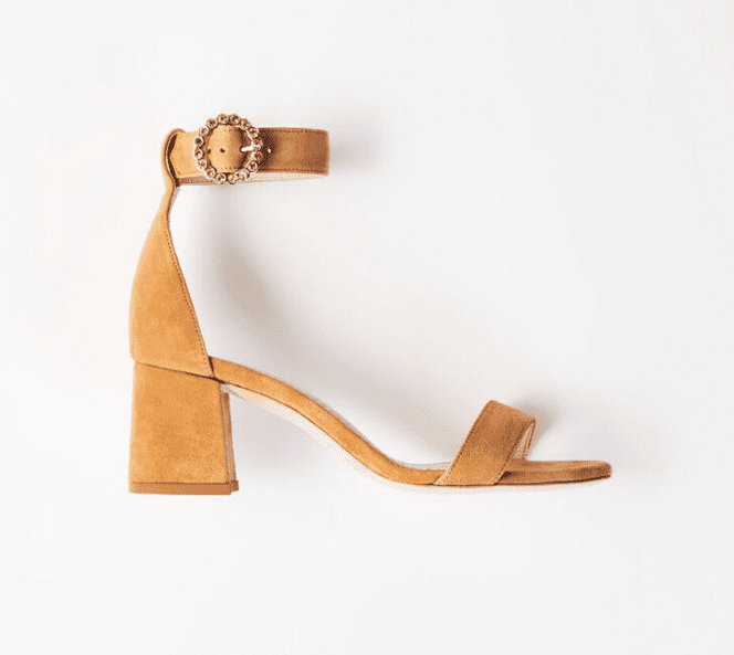 Sandales beiges Maje