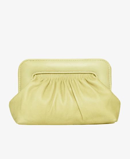 Pochette jaune pâle