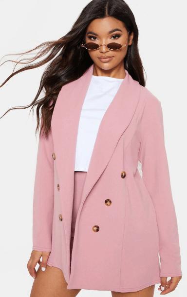 Blazer rose pastel PLT