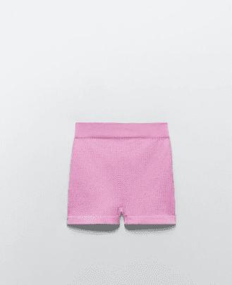 Micro short rose Zara