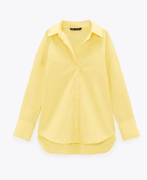 Chemise jaune Zara