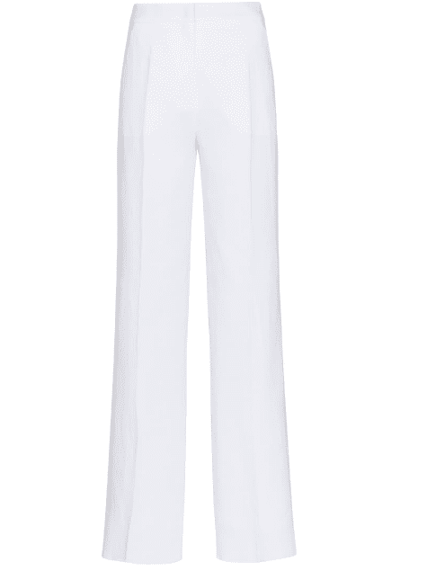 Pantalon large blanc Max Mara LUXE