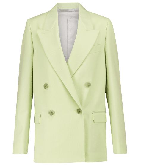 Blazer costume vert Acne Studios