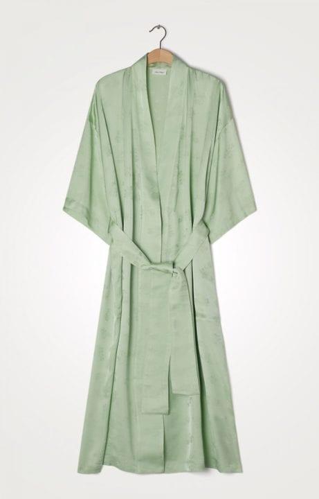Veste en soi vert pastel American Vintage