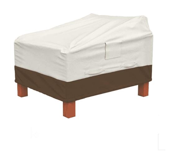Amazon Basics Lot de 2 housses pour fauteuils lounge à assise profonde
