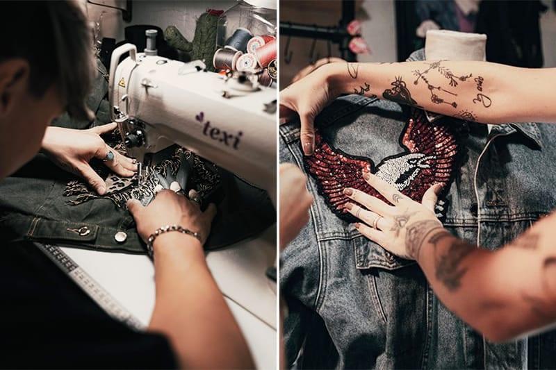 Atelier DIY Denim - créez votre veste en Jean sur mesure - Tidden expérience Paris - Sélection fête des mères