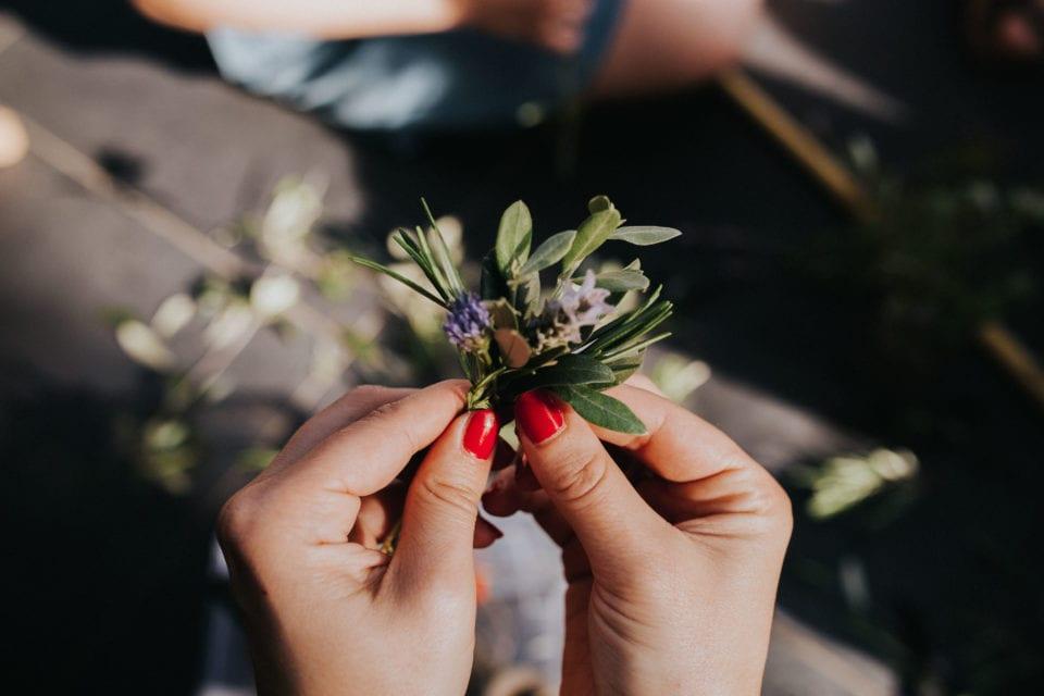 Atelier création de bouquet de fleurs - Sélection fête des mères