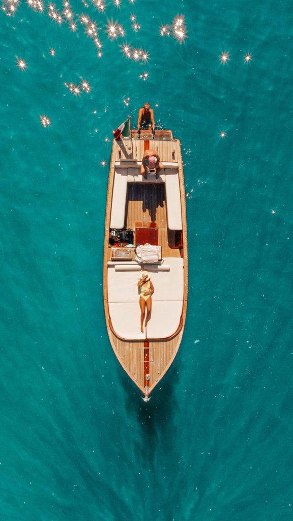 Location bateau Portofino