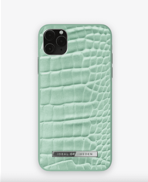 Coque Mint Croco - iPhone 11 Pro Max - Ideal of Sweden