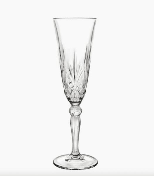 Flûtes à champagne cristal Melodia, 6 pièces - Westwing