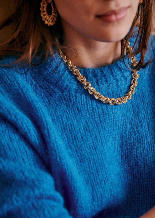 Joana necklace - Golden - Sézane - Sélection fête des mères